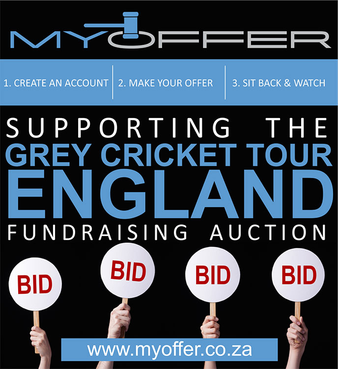 Grey High Cricket Tour | Fundraising Auctions | Charity